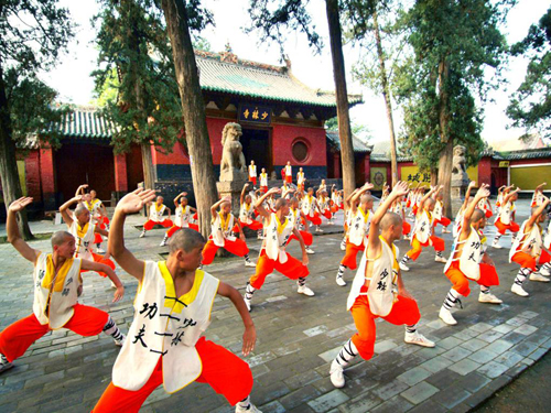 Shaolin Temple Exploration in H