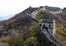 1 Day Mutianyu Great Wall and Underground Palace Private tour