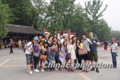 Foreign Language School Visited Chengdu