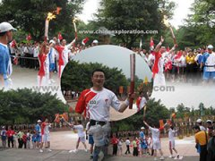 Beijing Olympic Game Torchbeare
