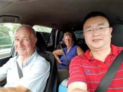 Raymond and Lucie's Overland Tour in China by Self-driving in 2017